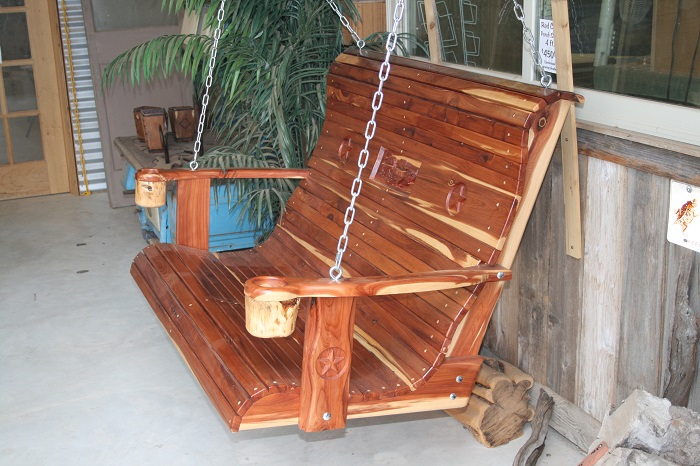 22 luxury porch swings austin tx for Easy porch swing